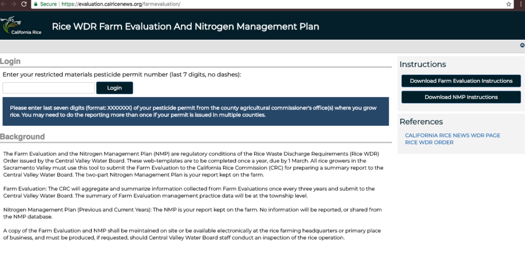 Farm Evaluation/Nitrogen Management Plan Reporting Deadline Extended