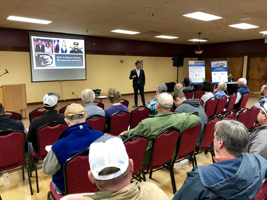 Here's a recap of today's CRC Grower Meetings